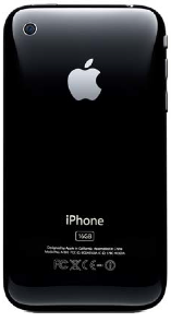 iPhone 3GS Back of Device